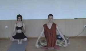Видеокурс хатха-йоги скачать бесплатно. 4 занятие. Апас-падма.
