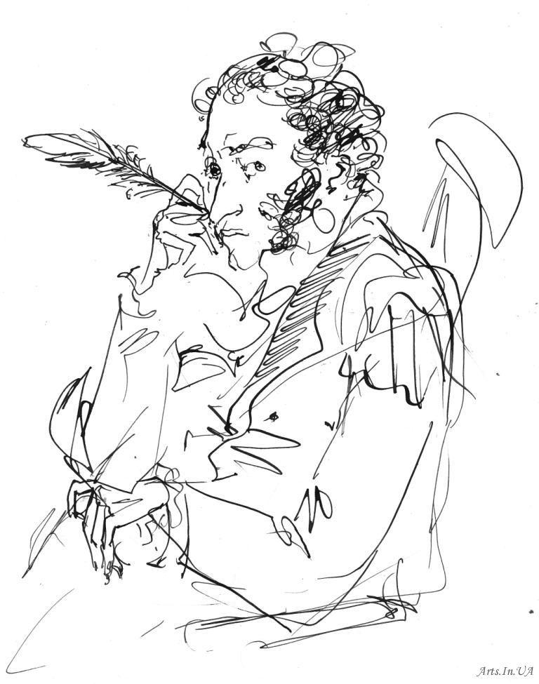 Пушкин и лира